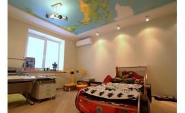 Натяжные потолоки в детской