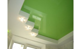 Натяжной потолок или гипсокартон