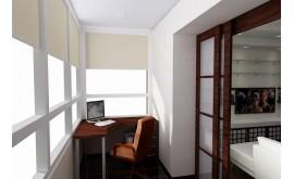 Натяжные потолки на балконе – стильно, долговечно и надежно