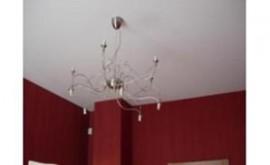 Натяжные потолки без шва