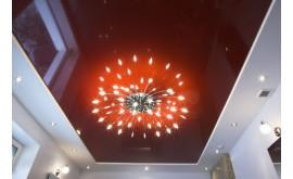 Освещение при натяжных потолках