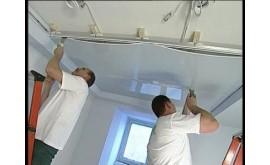 Монтаж натяжных потолков: краткая инструкция